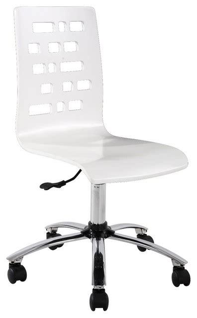 chaise de bureau transparente chaise de bureau alinea meubles français