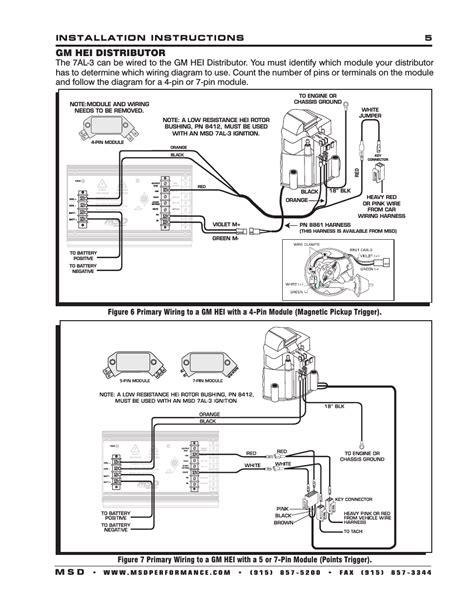 Hei Distributor Installation Instructions