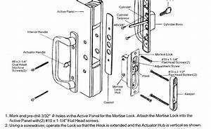 Diagram  Door Hardware Parts Diagram