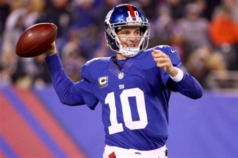 Manning No. 10 Giants Jerseys See Big Sales Spike Since