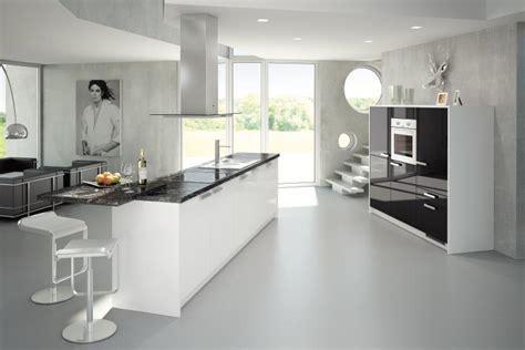 Black-and-grey-kitchen