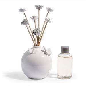 diffuseur de parfum blanc fleurs maisons du monde With chambre bébé design avec livraison fleur a domicile dimanche
