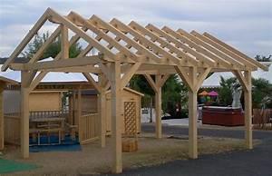 Faire Un Carport : carport bois ~ Premium-room.com Idées de Décoration