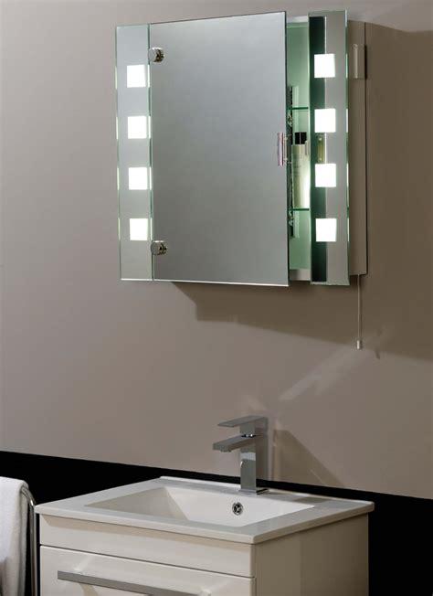bathroom mirror cabinet with lights and shaver socket illuminated shaver socket bathroom mirror cabinet el milos
