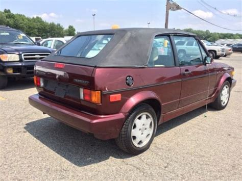 how to sell used cars 1993 volkswagen cabriolet auto manual purchase used 1993 volkswagen cabriolet cl convertible only 80 000 miles fun car rare in