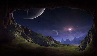 Alien Planet Wallpapers Planets Space Landscapes Night
