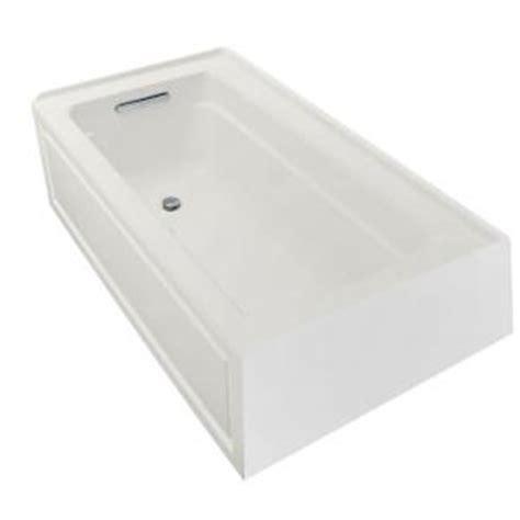 kohler bathtubs home depot kohler archer 5 ft air bath tub in white k 1122 gla 0