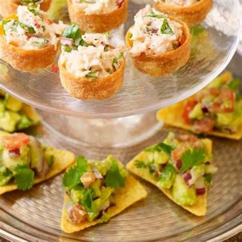 canape filling ideas 21 of the best canape recipes tortilla chips avocado