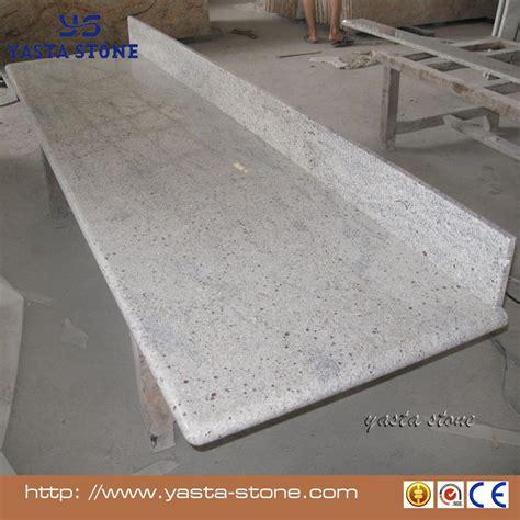 granit blanc cuisine préfabriquée cachemire blanc cuisine comptoirs en granit