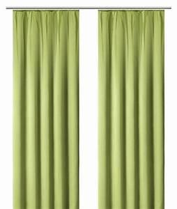 Vorhang Grün Blickdicht : 1 st vorhang store 140 x 145 gr n blickdicht verdunkelung ~ Lateststills.com Haus und Dekorationen