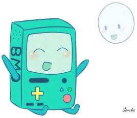 Adventure Time BMO and Bubble