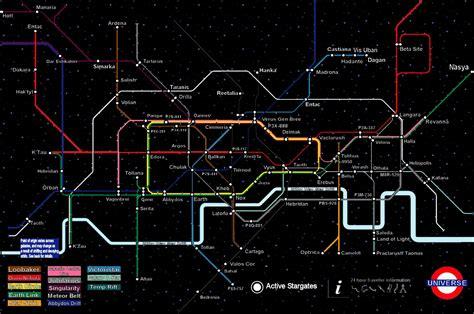 stargate universe map  jaggid edge  deviantart ship