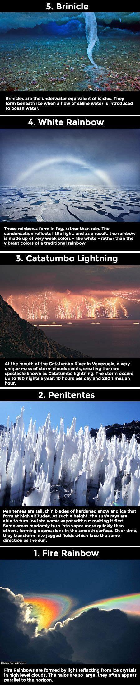 Spectacular But Super Rare Weather Phenomena Never Knew
