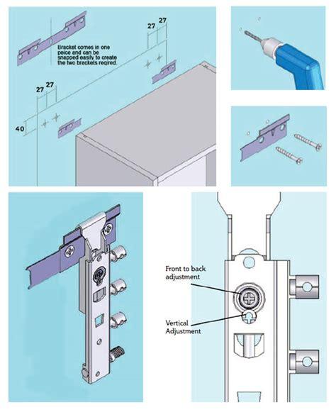 wall unit fitting adjustments diy kitchens advice