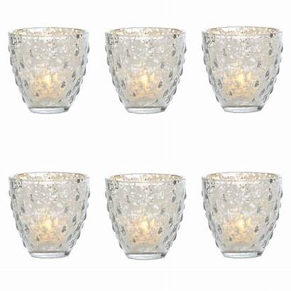 Candle Deborah Holder Mercury Glass Pack Tea