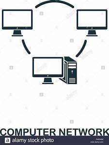 Computer Network Icon  Line Style Icon Design  Ui