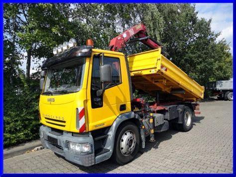kipper mit kran iveco 130 e 28 kipper mit kran tipper from germany for sale at truck1 id 863175