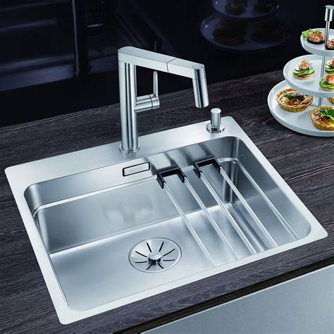 blanco kitchen sinks stainless steel blanco etagon 500 if a stainless steel kitchen sink 7919