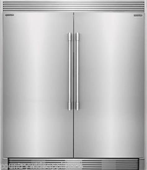 electrolux all and all freezer frigidaire pro stainless refrigerator freezer combo trim