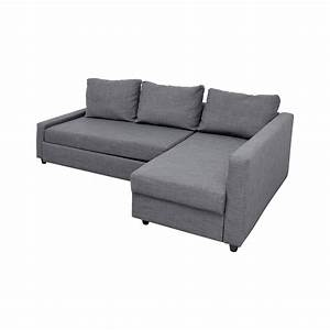 41 off ikea ikea grey sleeper chaise sectional sofas for Sectional sofas at ikea