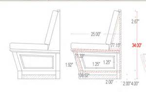 Table Banquette Size by Dorset Custom Furniture A Woodworkers Photo Journal A