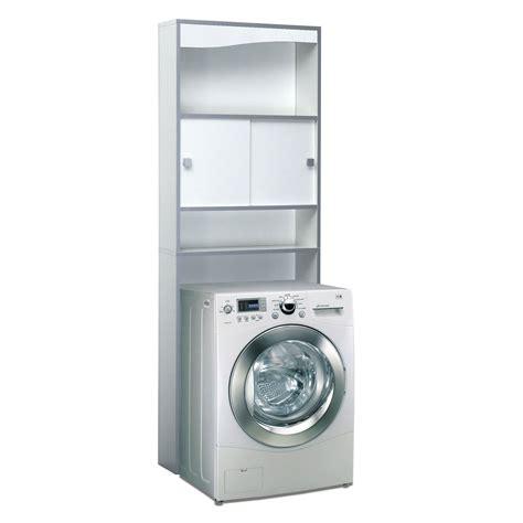 meuble cuisine 15 cm meuble wc bois avec 2 portes coulissantes et 2 niches longueur 64 3cm banio blanc gris