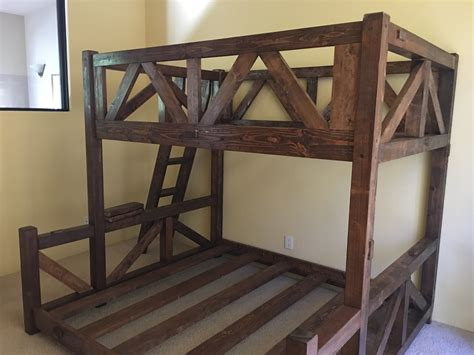 Custom Bunk Beds Simple Timber Mountain Barnwood Bunk Bed