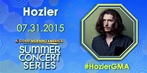 "Good Morning America on Twitter: ""We have @Hozier in the ..."