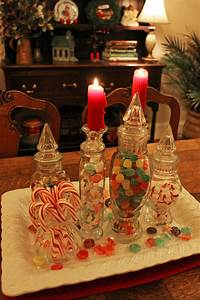 Southern, Lagniappe, Christmas, Candy, Centerpiece