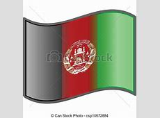 Vector of Afghanistan flag csp10572884 Search Clip Art