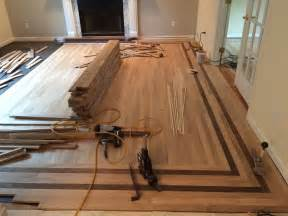 hardwood floor installation layout wood floor border inlay wc floors