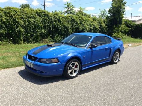 Purchase Used 2003 Ford Mustang Mach 1 Coupe 2-door 4.6l 5