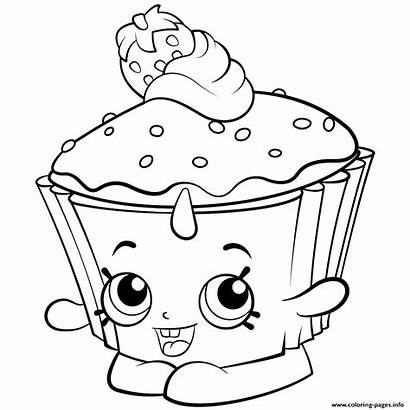 Coloring Shopkins Pages Colouring Exclusive Printable