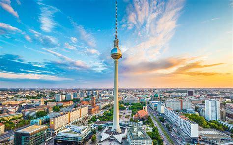 Fernsehturm Berlin, Alexanderplatz 4k Ultra Hd Wallpaper