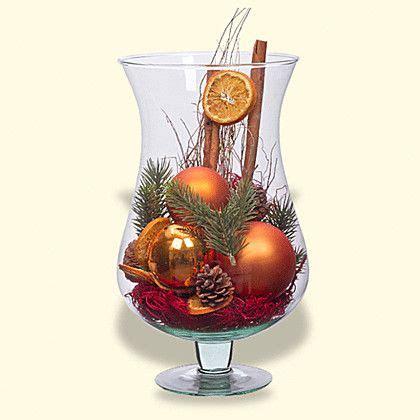 deko glas weihnachtlich dekorieren deko glas noel h 246 he 30cm anleitungen weihnachtsdekoration tischdeko weihnachten und deko