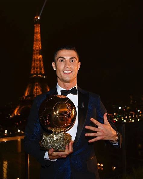 Ronaldo pips Messi to win Ballon d'Or for joint-record ...