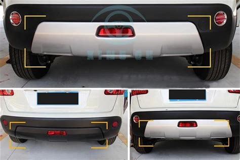 for nissan qashqai 2008 2015 front and rear bumper board protector guard bar ebay