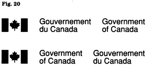 canada form of government federal identity program manual canada ca