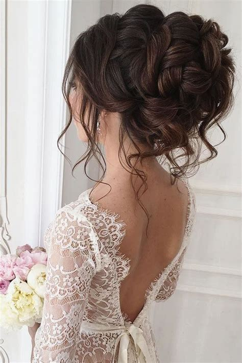 30 elegant wedding hairstyles for gentle brides dresses
