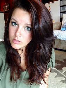 Trendy Hair Highlights Chocolate Brown Auburn