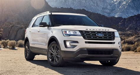 ford explorer 2017 ford explorer xlt sport pack is high impact styling
