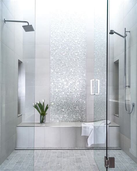 tile shower ideas    planning