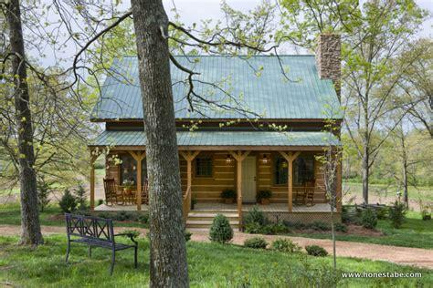 clayton log cabin  honest abe log homes