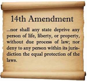 Equal Protection Clause of the 14th Amendment. Upvote to ...