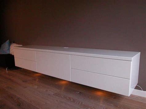 tv meubel hoogglans wit hangend ikea leveren en plaatsen zwevend tv meubel lowboard in