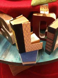 38 best letter books images on pinterest book letters With books cut out into letters