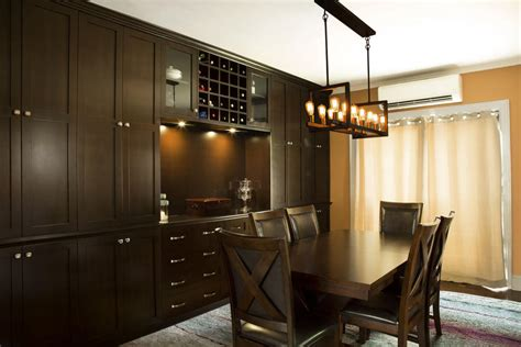 Built In Dining Room Wall Unit