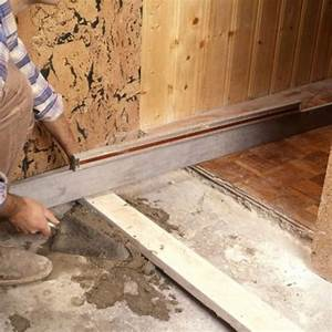 faire une chape de mortier sur une dalle avant carrelage With couler dalle beton interieur