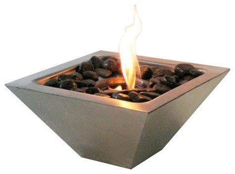 ethanol pits empire ventless see through bio ethanol fireplace modern fire pits by the elite home