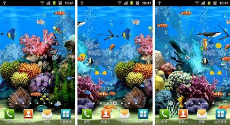 Animated Aquarium Wallpaper For Android - best aquarium and fish live wallpapers for android